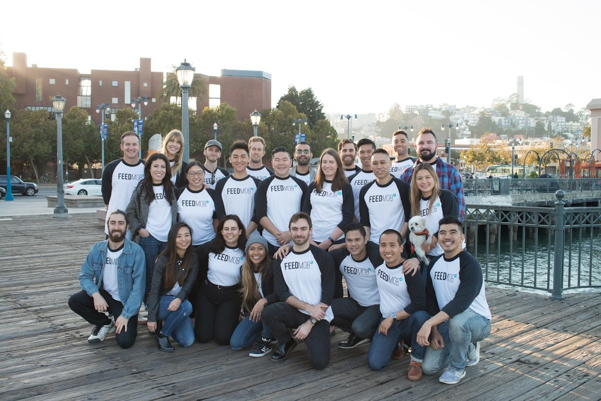 October 2018 - FeedMob client roster increases to 35+ and global headcount reaches 45+ and growing.