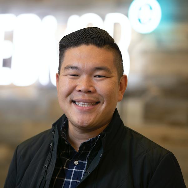 CEO of FeedMob Andrew Tan's headshot