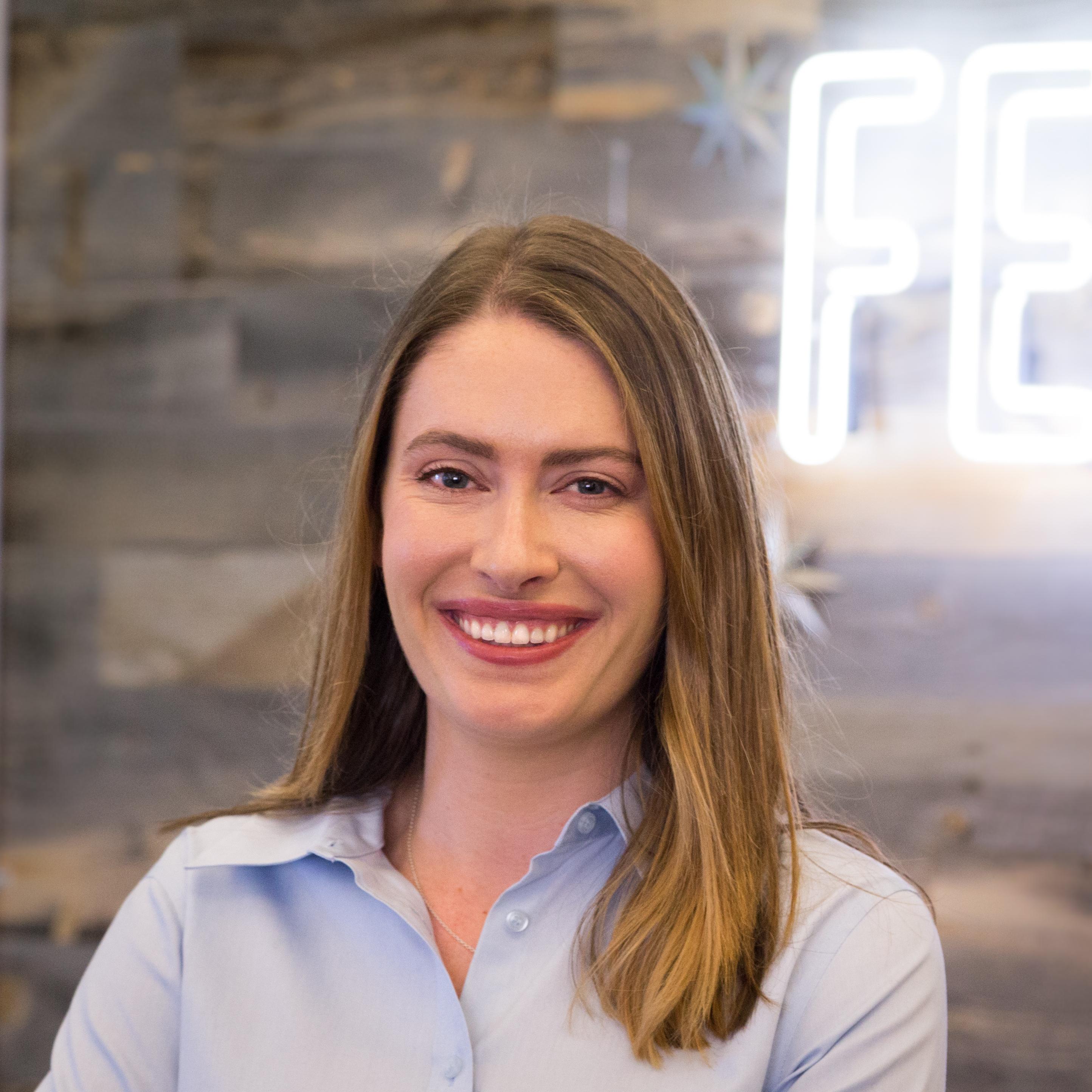 COO of FeedMob Sarah Hawley's headshot